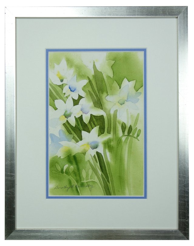 Flowers by Dorothy Kennedy