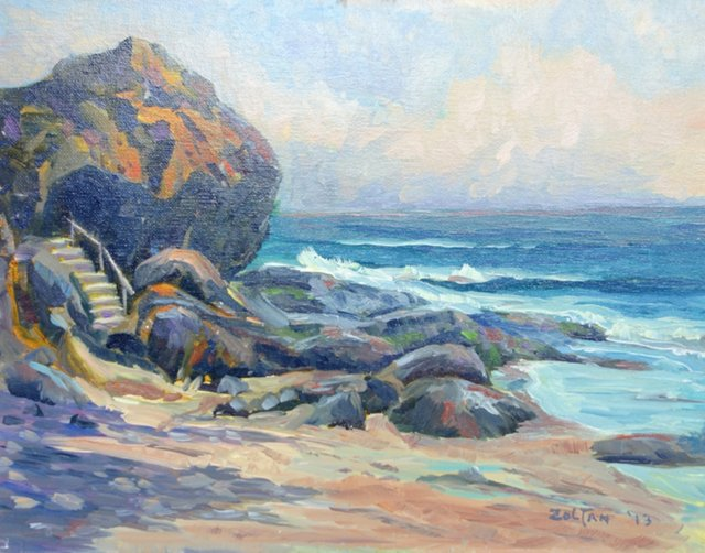 Rugged Coastline by Charles Zoltan