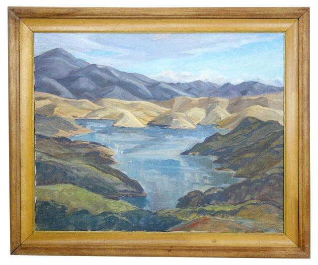 Lake Casitas by Edna Finley