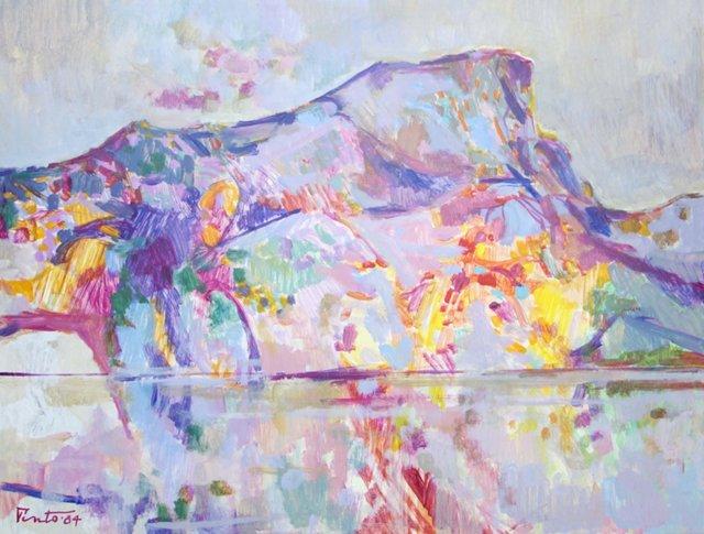 Kaleidoscopic Abstract Landscape