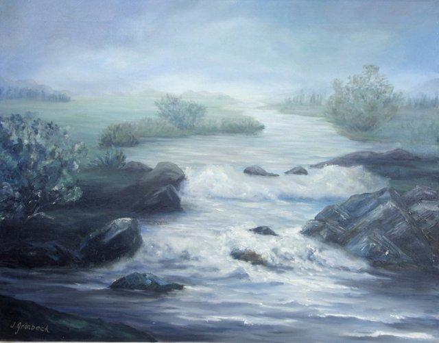 Impressionist Estuary J. Gronbeck