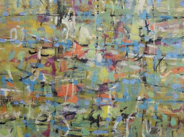 Colorful Abstract by Barbara Winkler