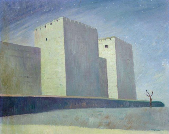 Surreal Cityscape by K. Walker '54
