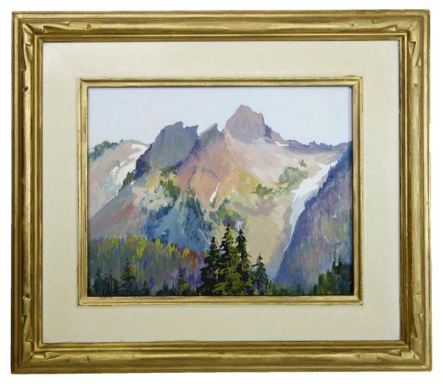 Impressionist Mountain View