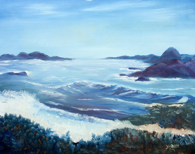 Seascape by Charles Yodelis