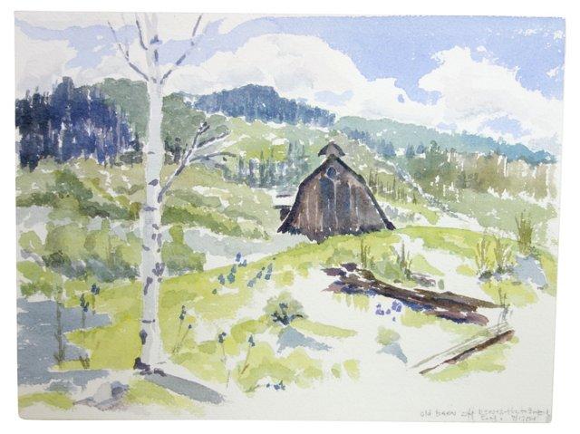 Old Barn by Betty Levasheff
