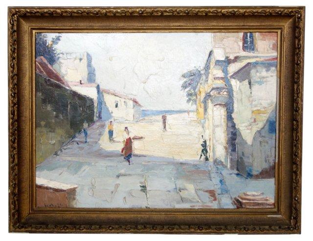 Seaside Street Scene