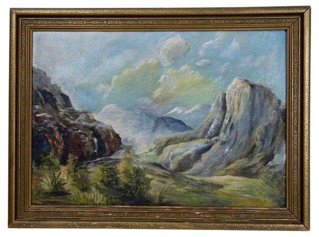 Catalina Mountain by Minerva Boyd-Miller
