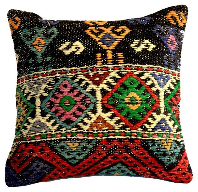 Handwoven Turkish   Pillow