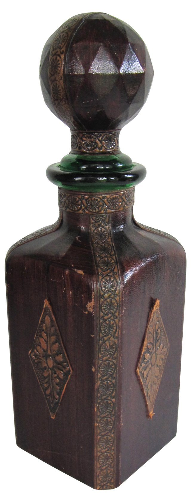 Leather-Wrapped Bottle
