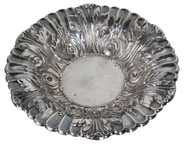 Ornate Silverplate Bowl