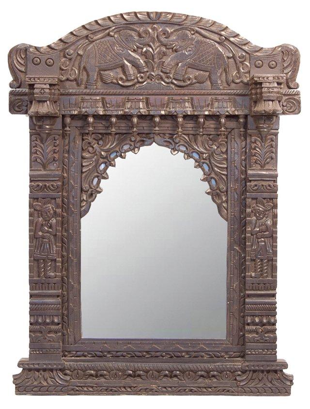 Early 20th Century Jharokha Mirror