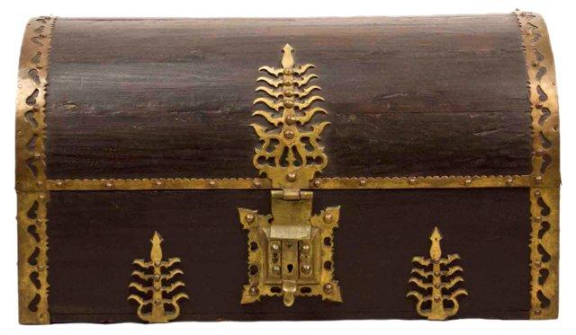 Late-19th-Century Indo Portuguese Trunk