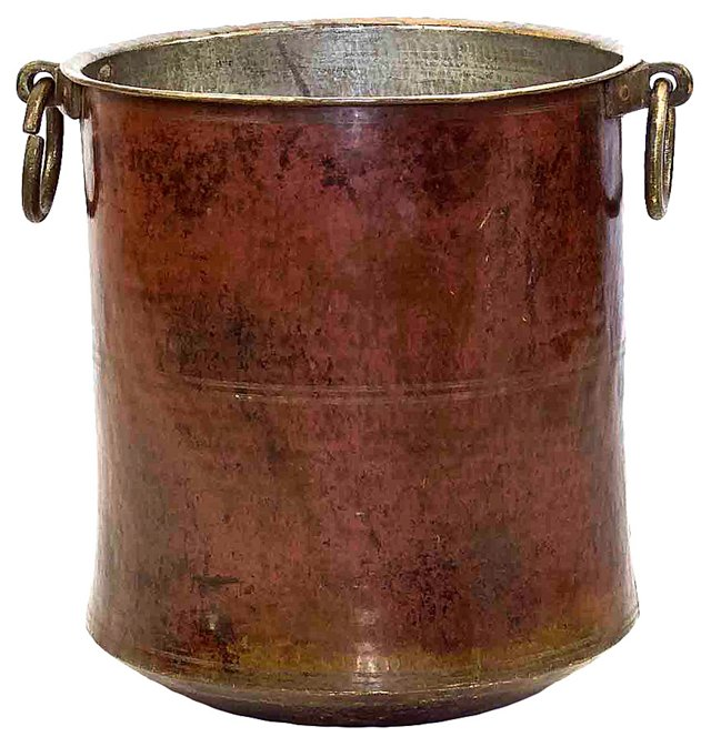 Early-20th-C. Copper Pot