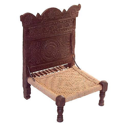 Antique Tribal Pida Chair