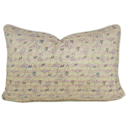 Bengal Silk Ivory Pillow