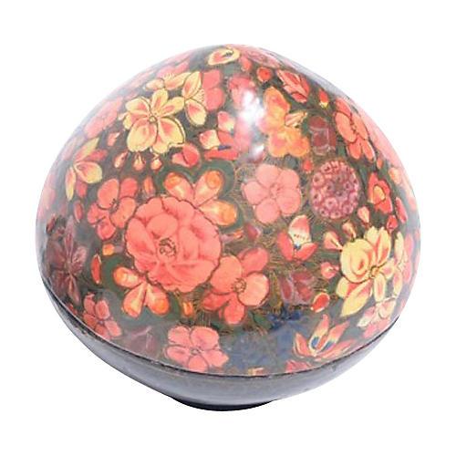 Floral Teardrop Kashmiri Box
