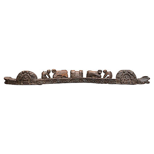 Tribal Naga Carved Yoke