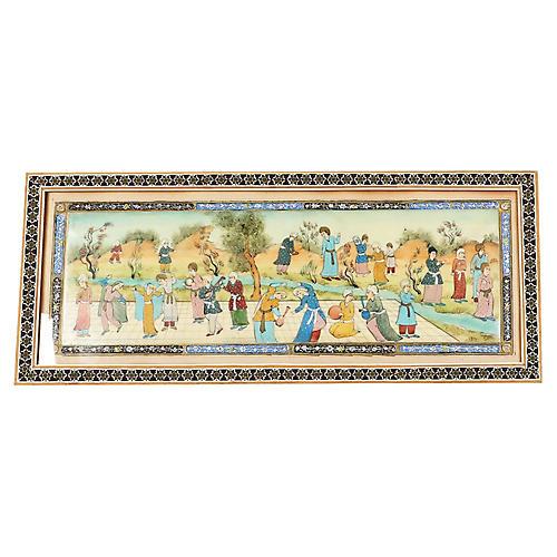 Isfahan Persian Painting