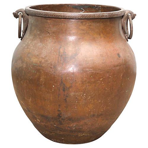 Amphora Copper Planter