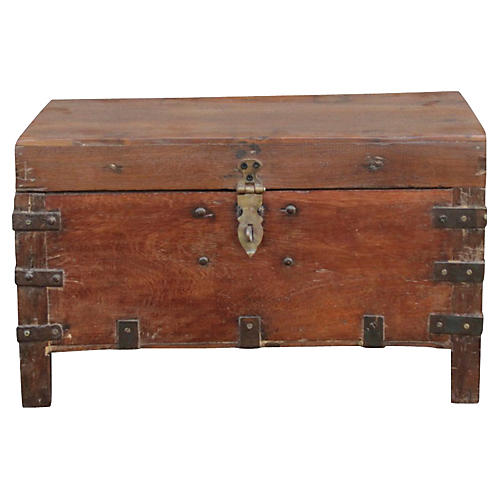 British Colonial Campaign Trunk