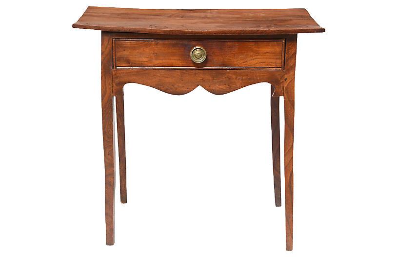 Mid 19th-C. English Oak Side Table