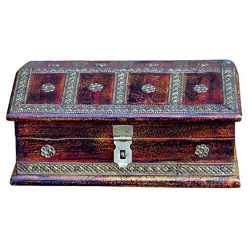 Brass Embellished Box
