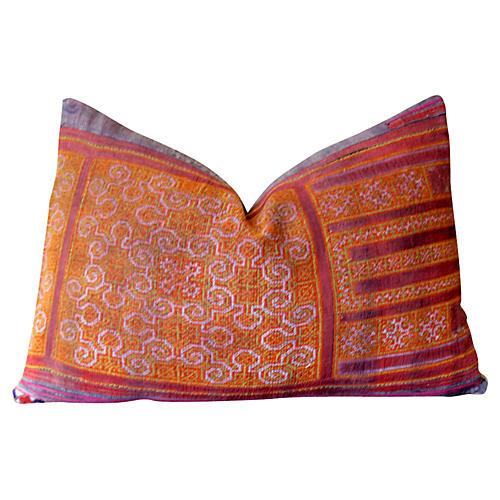 Jylia Hmong Hill Tribe Pillow