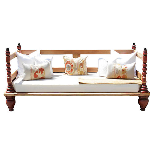 Indo-Portuguese Daybed