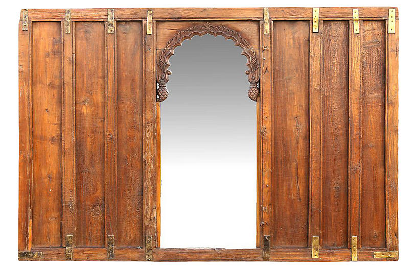 Arched Mirror Wall Panel