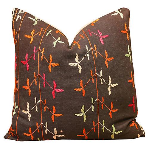 Lona Bagh Phulkari Pillow