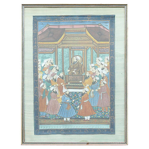 Antique Indo-Persian Painting