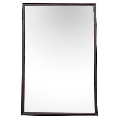 Large Elegant Rosewood Bombay Mirror