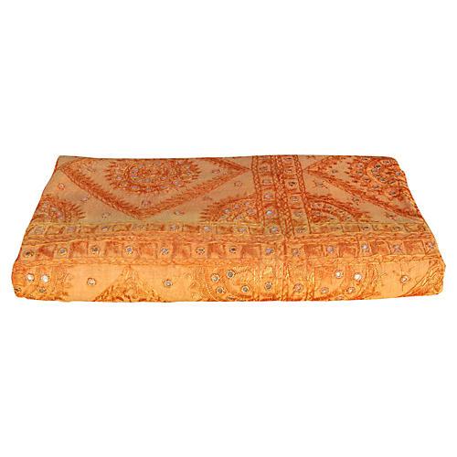 Tangerine Sheesha Coverlet