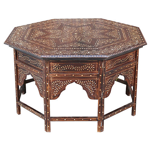 Rosewood Anglo Indian Octagonal Table