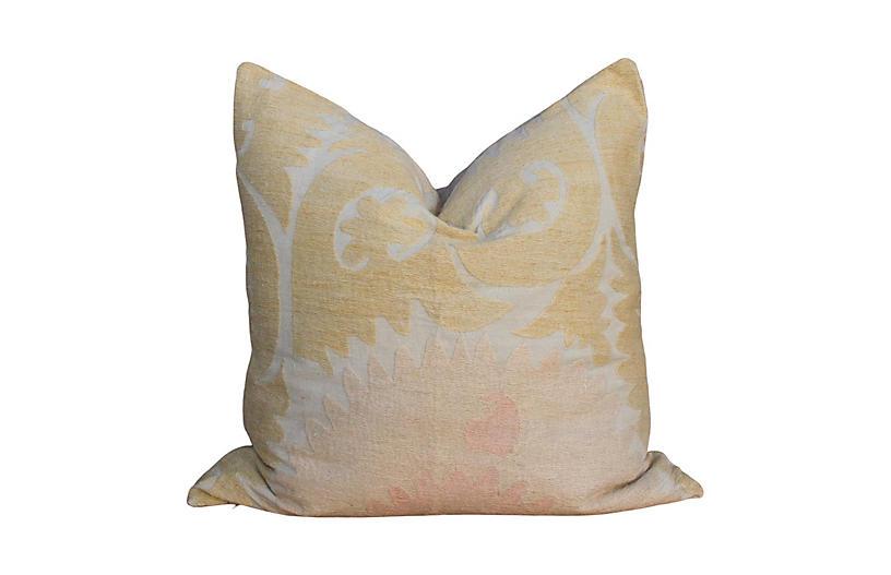 Ziana Suzani Square Pillow