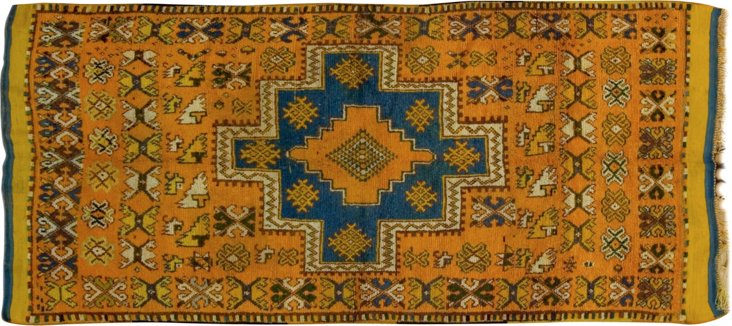"Moroccan Rug, 4'6"" x 8'6"""