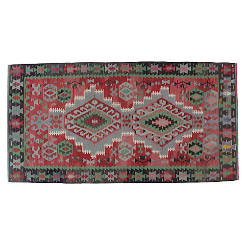 "Turkish Kilim, 5'11"" x 11'5"""