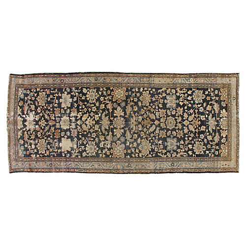 """Antique Distressed Malayer 5' x 11'10"""""""