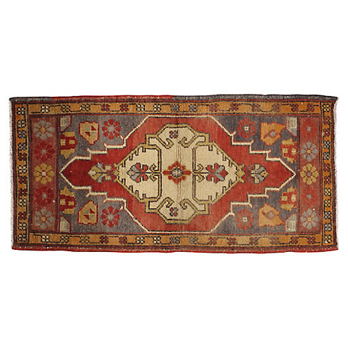 Turkish Yastik Rug, 2' x 3'7""