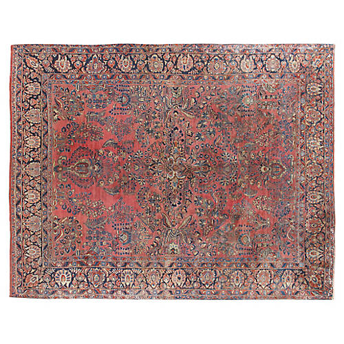 "1920s Sarouk Carpet, 9'2"" x 11'2"""