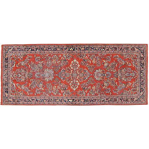 "Persian Sarouk Runner, 2'8"" x 6'"
