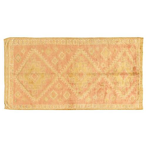 Moroccan Hand Woven Rug 4'9 x 8'8