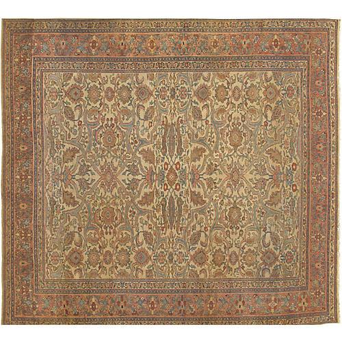 """Sarouk Carpet, 9' x 10'7"""""""