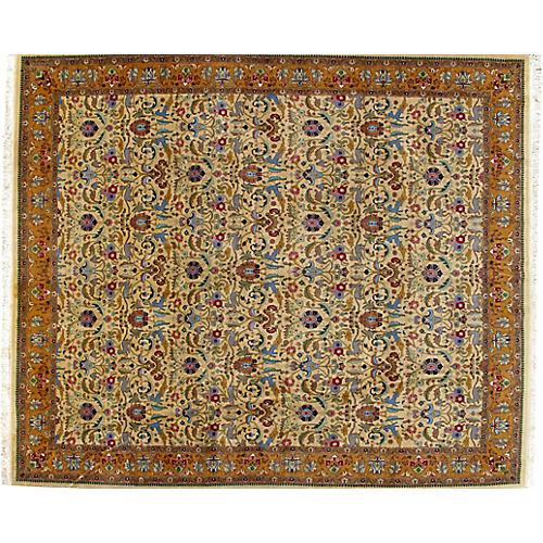"""Tabriz Carpet, 9'10"""" x 11'6"""""""
