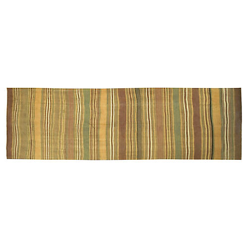 "Turkish Kilim Runner, 4'9"" x 16'5"""