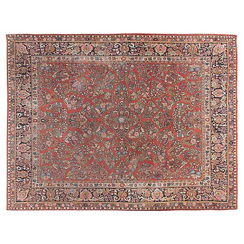 """Sarouk Carpet, 9'2"""" x 11'9"""""""