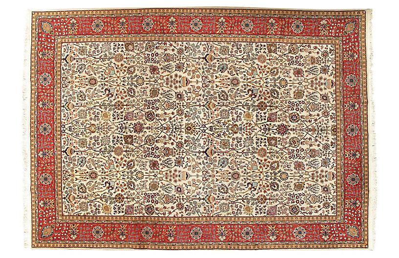Persian Tabriz Rug 8'1 x 11'7