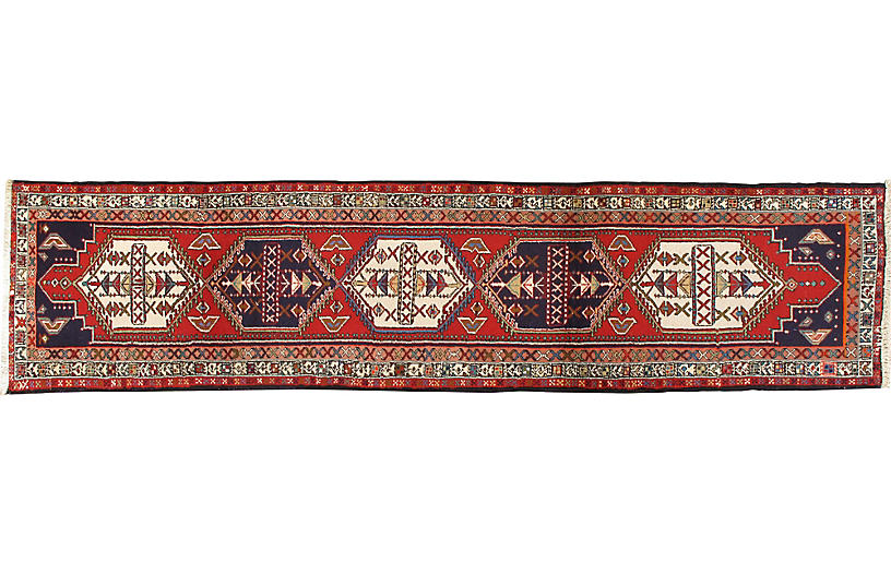 Persian Ardebil Rug Runner 2'2 x 9'6