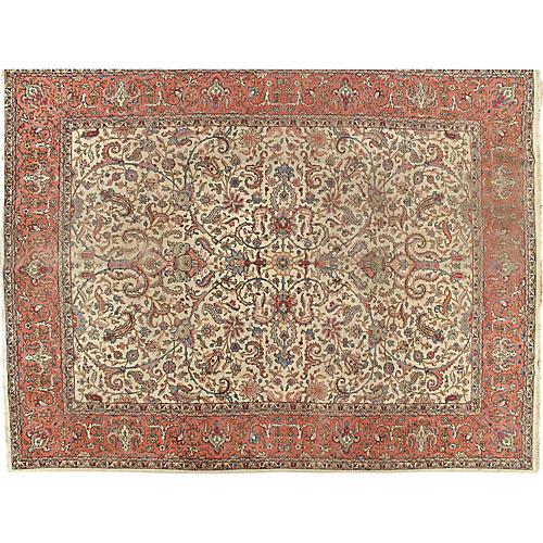 """Tabriz Carpet, 9'9"""" x 12'9"""""""